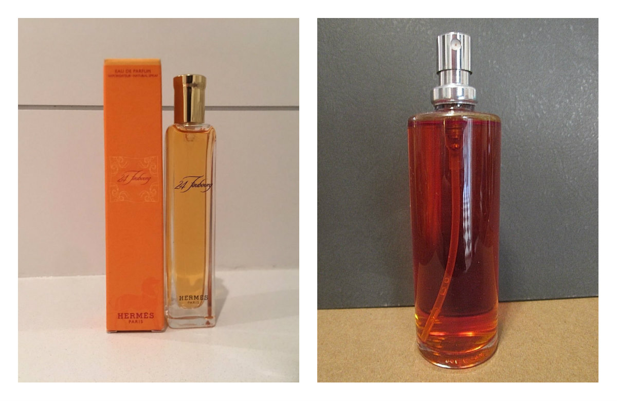 Herms 24 Faubourg Part Ii Modern Edp How To Recognize The Hermes Woman 100 Ml On Left Vintage Photo By Ebay Seller Ny222222 Cropped Me Slightly Sides Right Refill
