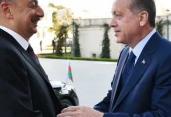 Azərbaycan və Türkiyə prezidentlərinin görüşü olub