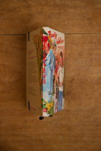 Notitieboek van het kinderboek Floortje Bellefleur wint een fiets | gemaakt door Kaftwerk.com