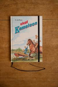 Notitieboek van het kinderboek Vivat, Kameleon | gemaakt door Kaftwerk.com