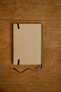 Notitieboek van het kinderboek Vondels Lucifer| gemaakt door Kaftwerk.com