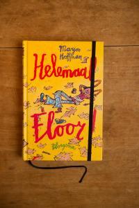 Notitieboek van het kinderboek Helemaal Floor | gemaakt door Kaftwerk.com