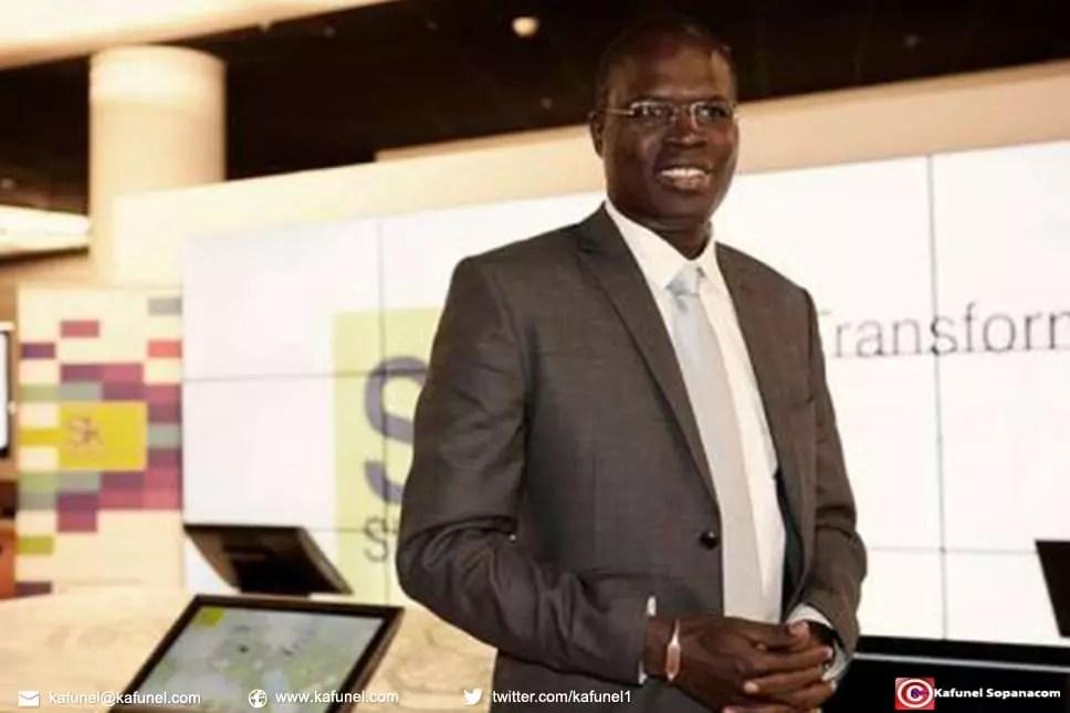 Le député-maire de Dakar, Khalifa Sall