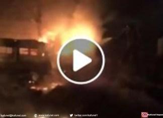 Incendie aux Almadies : Sept voitures réduites en cendres