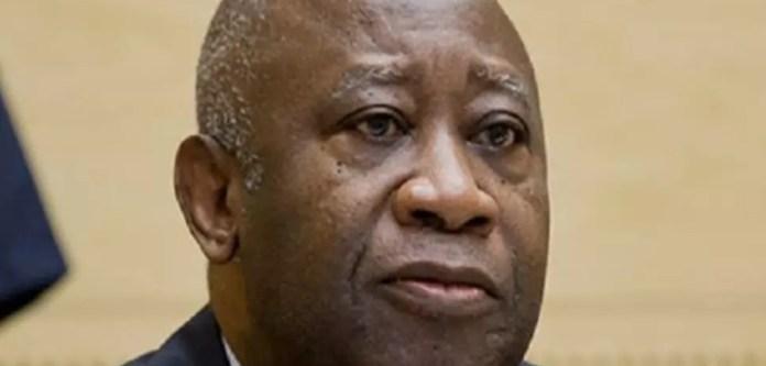 L'ancien président ivoirien Laurent Gbagbo à son arrivée dans la salle d'audience de la Cour pénale internationale à La Haye, aux Pays-Bas, le mardi 15 janvier 2019.