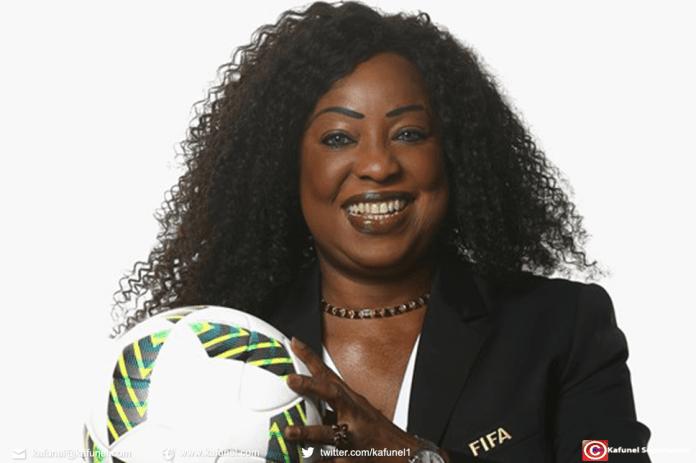 Fatma Samoura, secrétaire générale FIFA