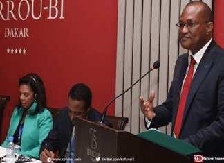 Abdou Ndéné Sall, ministre délégué chargé du développement du réseau ferroviaire
