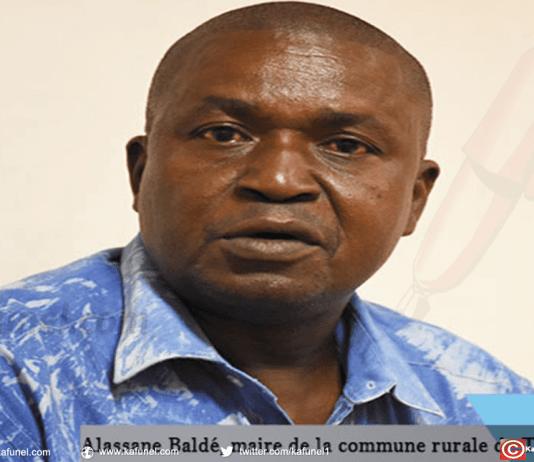 Alassane Baldé, maire de la commune rurale de Thieyti, dans l'arrondissement de Saré Bidji (département de Médina Yoro Foula)