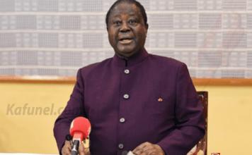 L'ancien président ivoirien Henri Konan Bédié, le 19 avril 2018 à Daoukro. | AFP/Archives | SIA KAMBOU