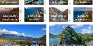 Les 10 plus belles routes du monde. La n° 3 vaut à elle seul le détour...