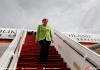 Visite de la Chancelière de la République fédérale d'Allemagne Me. Angela MERKEL