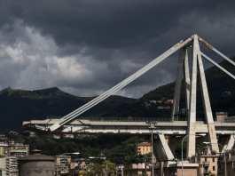 Pont Morandi à Gênes. [Marco Bertorello - AFP]