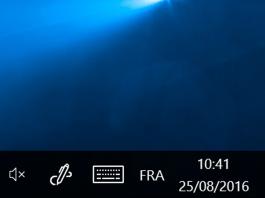 mode d'affichage des icônes et notifications