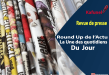 revue de presse + post article = images