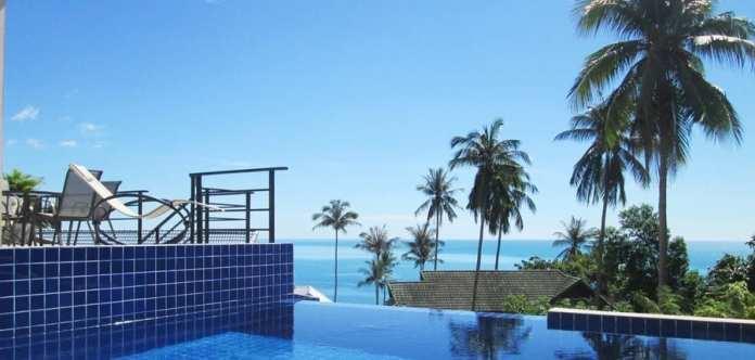 06-Villa Samui (Sud Thailand) vue sur mer