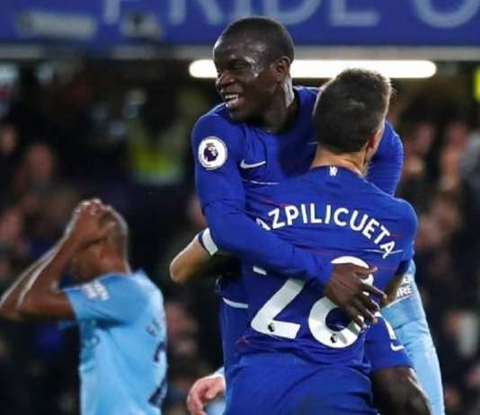 Kanté a inscrit le premier but de la rencontre. ( - ) Eddie Keogh Reuters