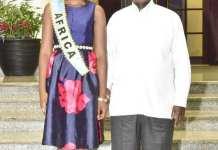 """Les cheveux """"indiens"""" de Miss Afrique"""