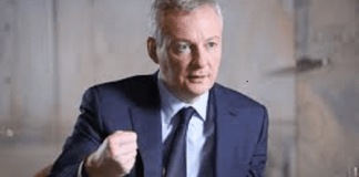 Bruno Le Maire, ministre français de l'Economie et des Finances