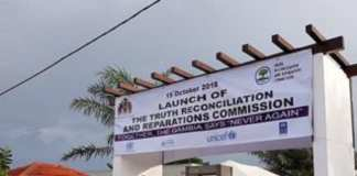 Le siège de la Commission vérité réconciliation et réparation de la Gambie.