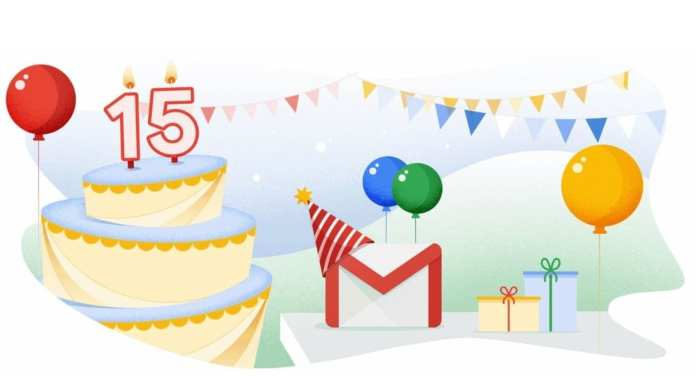 Gmail fête ses 15 ans avec plusieurs nouvelles fonctionnalités en vue