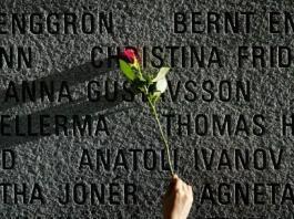 852 passagers et membres d'équipage ont péri en septembre 1994 dans le naufrage de l'«Estonia». Photo prise en 2004 au mémorial situé à Tallinn, en Estonie.