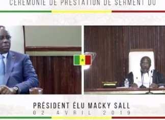 Revivez en intégralité la prestation de serment de Macky Sall