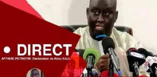 Affaire Pétro-Tim : Revivez la conférence de presse avortée d'Aliou Sall