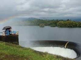 Le premier barrage de l'État a submergé le village de Curdi