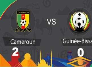 Urgent CAN 2019: le Cameroun, tenant du titre, s'impose 2-0 face à la Guinée-Bissau