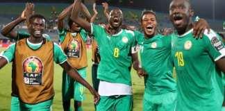 Les Sénégalais sont en finale de la CAN 2019. Suhaib Salem/Reuters