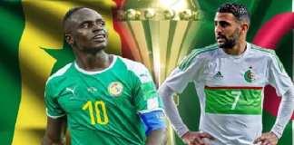 Sénégal Vs Algérie en finale¨de la Can 2019 - Duel Sadio Mané - Makhrez