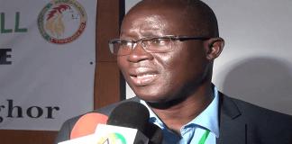 Auguistin Senghor, président de la fédération sénégalaise de football