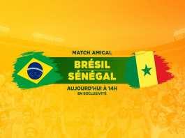 Live Football Brazil vs Senegal