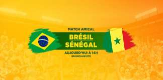 Live Football Brazil vs Senegal
