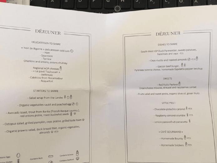 Des spécialités locales au menu ce mercredi. - DR Elysée