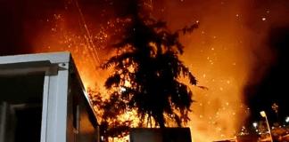 Grèce : nouvel incendie dans un camp de migrants surpeuplé