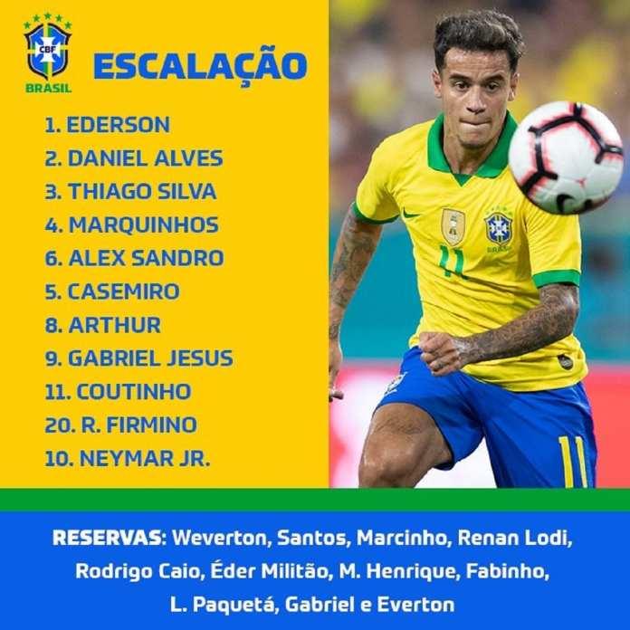 brésil- seleçao