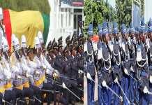 Le Chef de l'Etat baptise des promotions de trois écoles militaires
