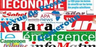 Revue de Presse-Cameroun