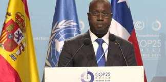 COP 25 - Abdou Karim Sall, ministre de l'Environnement et du Développement Durable+