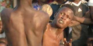 Le dambe , ancien sport de combat ressuscité par YouTube
