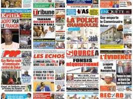 Revue de presse du 10 décembre 2019 - Le remplacement du Commissaire Central de Dakar à la Une