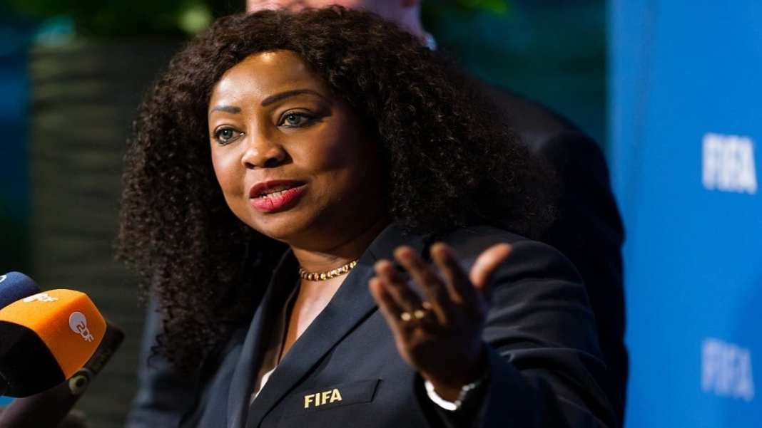 Fatma Samoura ''satisfaite'' de sa collaboration avec la CAF