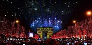 Festivités du Nouvel An à Paris: 400.000 personnes se sont réunies sur les Champs-Elysées
