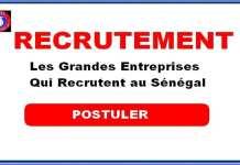 Offre Bourses Liste des grandes Entreprises Qui Recrutent au Sénégal - Offre Bourses