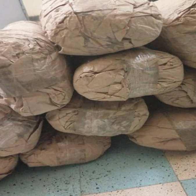 Drogue - 10 Kg de yamba saisis à Kaffrine