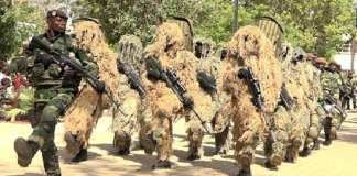 bataillon de commandos de thiés