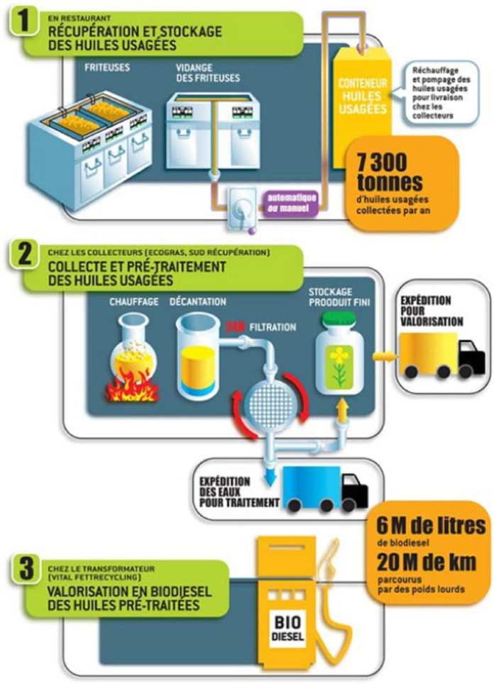 McDonald's - Comment McDonald's transforme son huile de friture en biocarburant