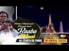 Baaba Maal reporte à une date ultérieure