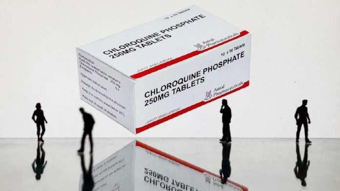 Chloroquine , présentée par professeur Raoult comme meilleure arme contre le Covid-19+